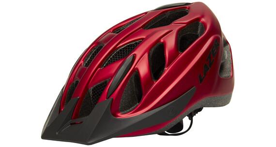 Lazer Cyclone Bike Helmet red